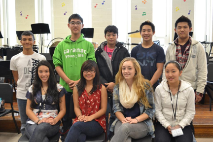 Top, left to right: Christian Macias, Daniel Park, Joseph Park, Gene Han, Daniel Pak