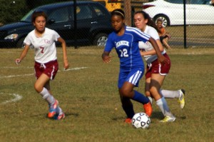 Soccer: Lady Raiders Struggle with Highwaymen
