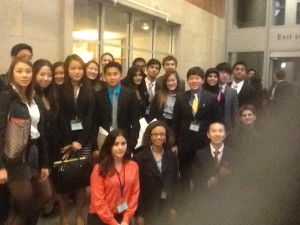 DMAE'S Model UN Team Comes Home Victorious