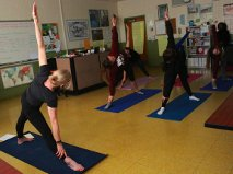 Reducing Stress in Yoga Club