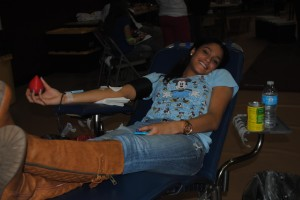 The Flow of the                                                                                                                                                                                  Spring Blood Drive