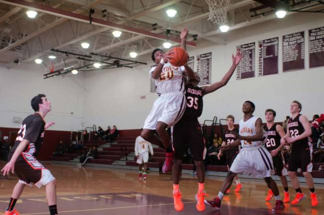 Raiders Storm the Hardwood