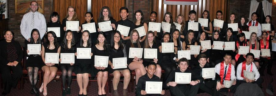 Spanish Honor Society Inducts 30