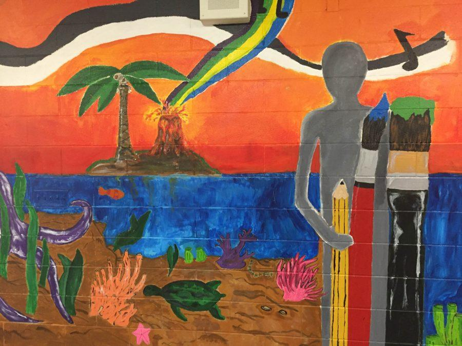 Art on the Wall: King Hall's Spring Makeover