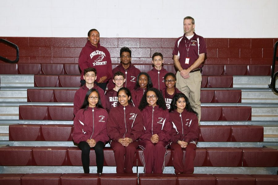 DMAE cross country team.