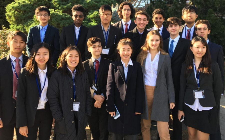 Model UN Team Wins at UCONN