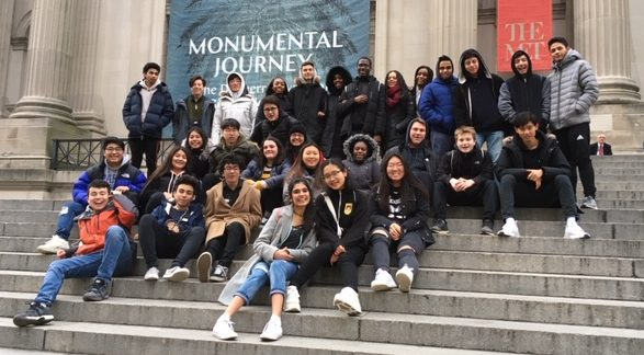 Walking Through History: Analyzing American Art APUSH Students Visit the Met