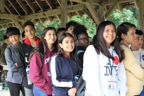 Teen Pep Team Builds Trust