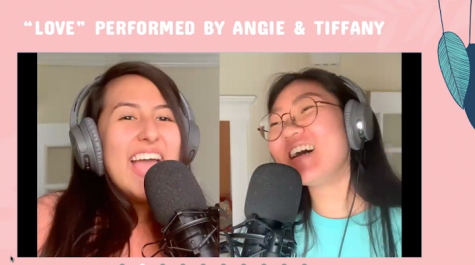 "Pre-recorded ""Love"" performance by Angelica Munoz and Tiffany Moon aired during LIVE channel broadcast."