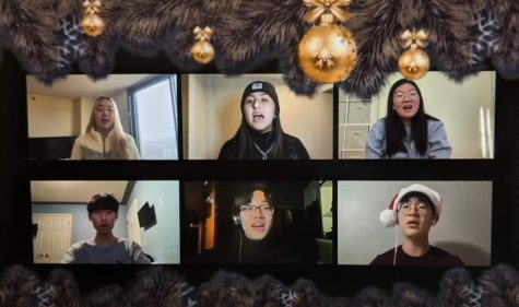 Tri-M and Vocal Synergy Virtually Perform Holiday Carols